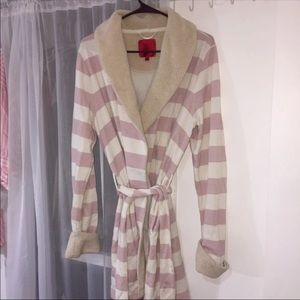 Victoria's Secret fleece robe
